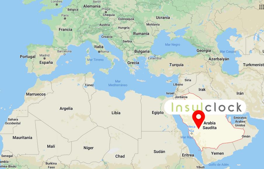 Insulclock en Arabia Saudí